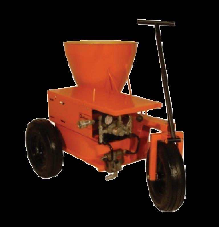 stucco-carrousel-heavy-duty pump