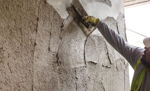 how to apply stucco on concrete wall